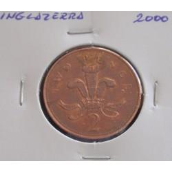 Inglaterra - 2 Pence - 2000
