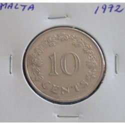 Malta - 10 Cents - 1972