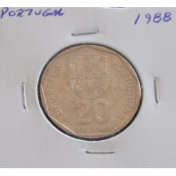 Portugal - 20 Escudos - 1988