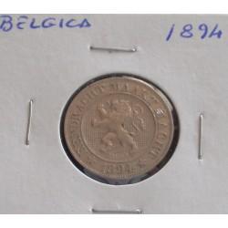 Bélgica (Der Belgen ) - 10 Centimes - 1894