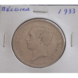 Bélgica (Des Belges ) - 5 Francs - 1933