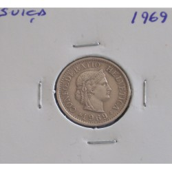 Suiça - 10 Rapen - 1969
