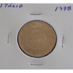 Itália - 200 Lire - 1978