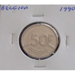 Bélgica ( Belgique ) - 50 Francs - 1990