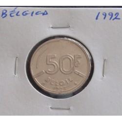 Bélgica ( Belgie ) - 50 Francs - 1992