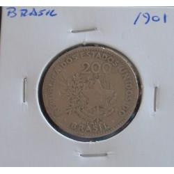 Brasil - 200 Réis - 1901