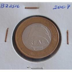 Brasil - 1 Real - 2007
