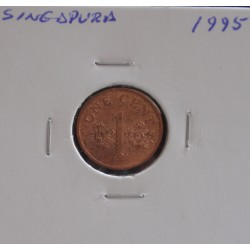 Singapura - 1 Cent - 1995