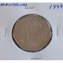 Maurícias - 10 Rupees - 1997 - Unc