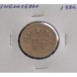 Inglaterra - 1 Pound - 1984