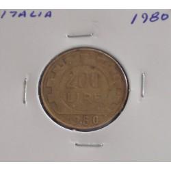 Itália - 200 Lire - 1980
