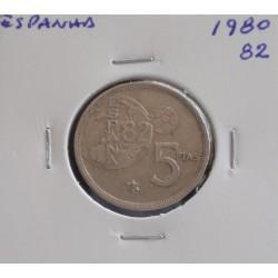 Espanha - 5 Pesetas - 1980-82