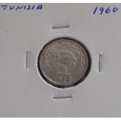 Tunisia - 1 Millieme - 1960