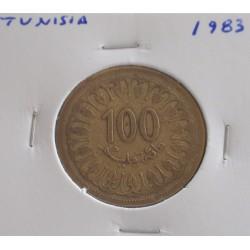Tunisia - 100 Millim - 1983