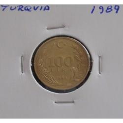 Turquia - 100 Lira - 1989
