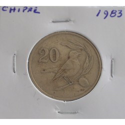 Chipre - 20 Cents - 1983