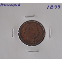 Hungria - 2 Filler - 1899