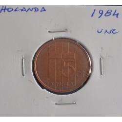 Holanda - 5 Cents - 1984 - Unc