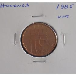 Holanda - 5 Cents - 1985 - Unc
