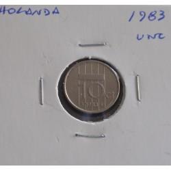 Holanda - 10 Cents - 1983 - Unc