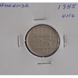 Holanda - 25 Cents - 1985 - Unc