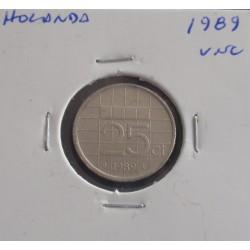 Holanda - 25 Cents - 1989 - Unc