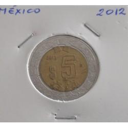 México - 5 Pesos - 2012