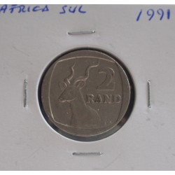 África do Sul - 2 Rand - 1991