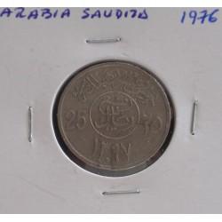 Arábia Saudita - 25 Halala - 1976