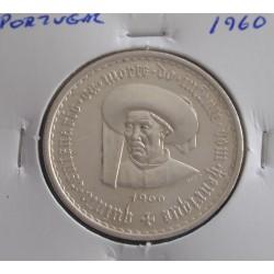 Portugal - 20 Escudos - 1960 - Infante D. Henrique - Prata