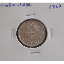 Cabo Verde - 2,50 Escudos - 1967