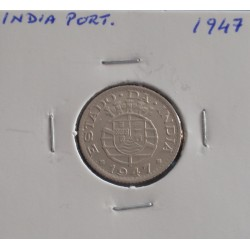 India - 1/4 Rupia - 1947