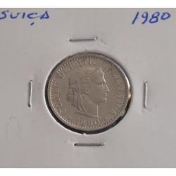 Suiça - 20 Rapen - 1980