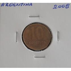 Argentina - 10 Centavos - 2008