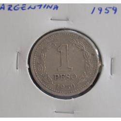 Argentina - 1 Peso - 1959
