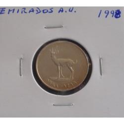 Emirados A. U. - 25 Fils - 1998