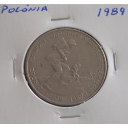 Polónia - 500 Zlotych - 1989