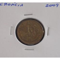 Croácia - 10 Lipa - 2009