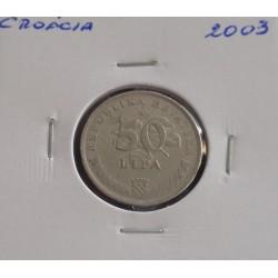 Croácia - 50 Lipa - 2003