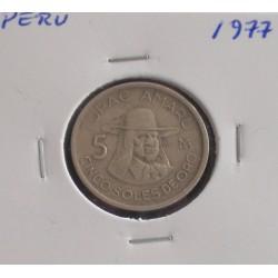 Peru - 5 Soles - 1977