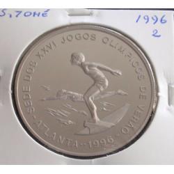 S. Tomé - 1000 Dobras - 1996 - J. O. Verão Atlanta - 2