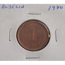 Rodésia - 1 Cent - 1970
