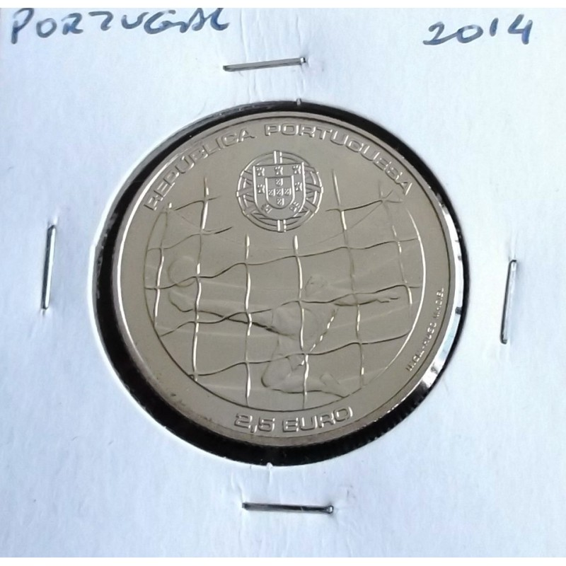 Portugal - 2,50 Euro - 2014 - Mundial da FIFA Brasil 2014