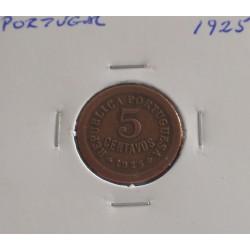Portugal - 5 Centavos - 1925
