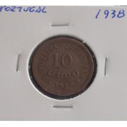 Portugal - 10 Centavos - 1938