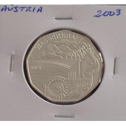 Aústria - 5 Euro - 2003 - Prata