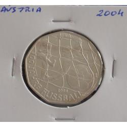 Aústria - 5 Euro - 2004 - Prata