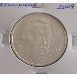 Eslováquia - 10 Euro - 2009 - Prata