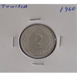 Tunisia - 2 Millim - 1960