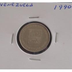 Venezuela - 50 Centimos - 1990